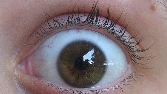 Aparat fotograficzny, aby wykryć problemy wzroku